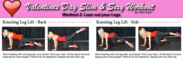 Valentine's Day Leg Workout