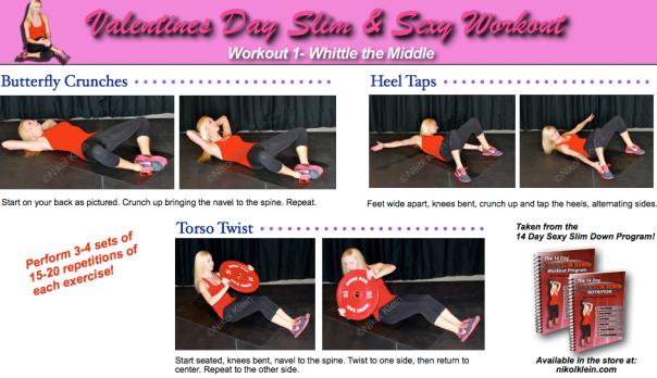 Valentines Day Ab Workout